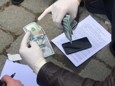 На Буковині викритому на хабарі податківцю оголосили про підозру