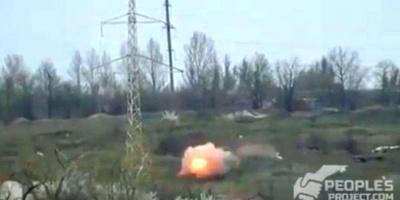 Офіцер ЗСУ опублікував відео знищення керованими ракетами кулеметних точок окупантів