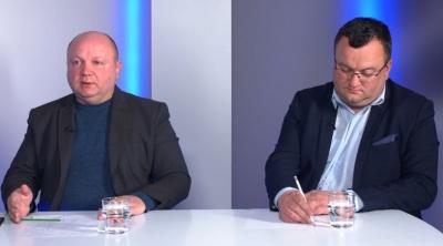 Продан і Каспрук зустрілись у прямому ефірі – відео