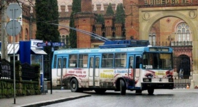 У Чернівцях тролейбуси на Великдень почнуть їздити з п'ятої ранку