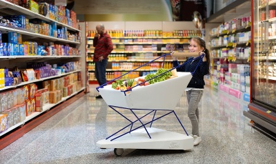 """Ford створила """"розумний"""" візок для супермаркетів"""
