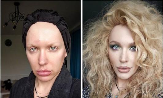 Як виглядає Монро без макіяжу?