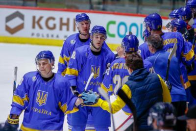 Україна здобула першу перемогу на Чемпіонаті світу з хокею