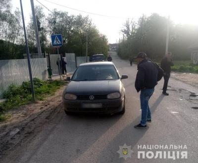 У Чернівцях 5-річна дівчинка потрапила під колеса легковика