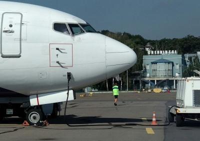 Аеропорт «Чернівці» вперше за 3 роки показав негативну динаміку пасажиропотоку