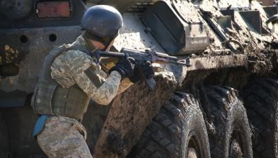 З початку доби бойовики здійснили 12 обстрілів. Поранено 2 військових