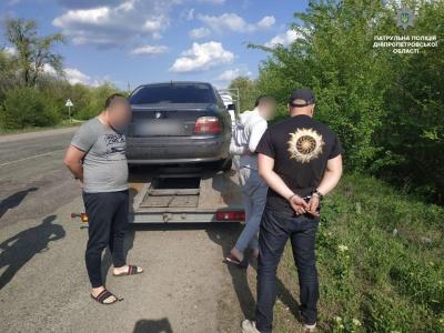 У Дніпропетровській області затримали крадіїв, яких розшукували на Буковині