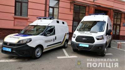 Поліція Буковини отримала два нові «автозаки» – фото