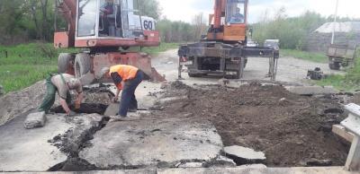 На мості у Маршинцях відновили рух транспорту – фото
