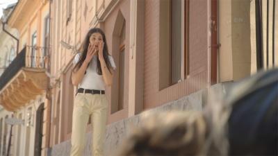 У центрі Чернівців тривають зйомки містичного трилера - фото