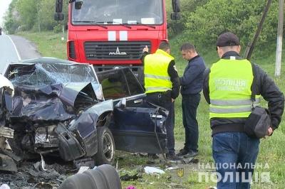 На Вінниччині у жахливому ДТП загинули 4 особи