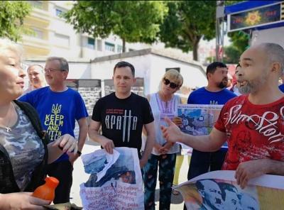У столиці Португалії учасники акції «Безсмертний полк» напали на українців