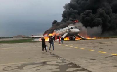 За офіційними даними на борту літака, який горів у Шереметьєво, загинула 41 людина
