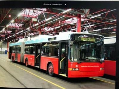 До Чернівців незабаром привезуть вживані тролейбуси зі Швейцарії