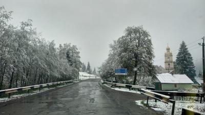 «Давно такого не пам'ятаю»: голова Путильської РДА дивується снігові у травні