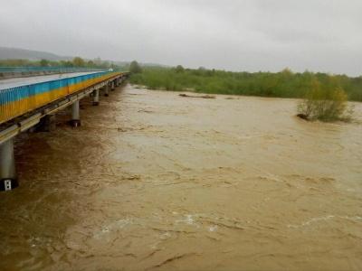 Штормове попередження: через підняття рівня води у Дністрі можливі підтоплення городів
