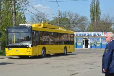 У Чернівці привезуть нові тролейбуси на автономному ходу