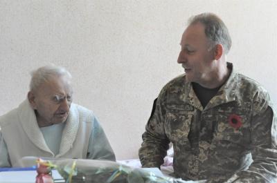 У Чернівцях з Днем перемоги привітали 101-річного ветерана