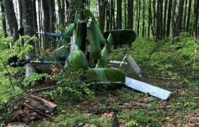 У Румунії поблизу кордону з Україною виявили вертоліт та тіло пілота