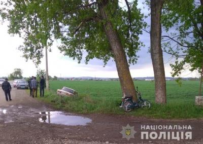 У Маршинцях «Жигулі» зіткнулися із мопедом, одна людина травмована