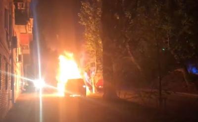 У Києві спалили авто головного редактора телеканалу TVi