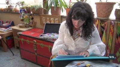 У США українка малює янголів, щоб допомогти онкохворим дітям з Чернівців