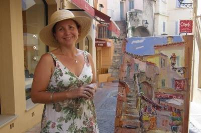 «Французькі канікули»: у Чернівцях у «Вернісажі» відкриють виставку живопису