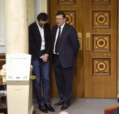 Нардеп Лещенко заявив, що генпрокурор Луценко розголошував йому таємниці слідства