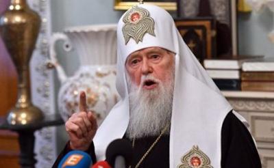 Патріарх Філарет заявив, що саме він має керувати Православною церквою в Україні