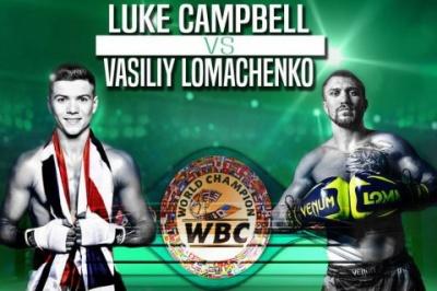 Стало відомо, коли Ломаченко та Кемпбел проведуть бій за 3 пояси