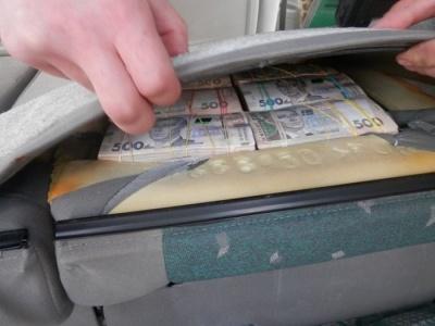 """На КПП """"Мар'їнка"""" затримали чоловіка, який намагався провести 5 мільйонів готівкою"""