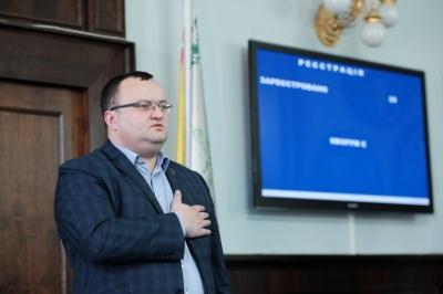 Троє депутатів підписалися за проведення перевиборів Чернівецької міськради