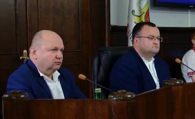 Депутати посперечались, чи має Каспрук право вести сесію Чернівецької міськради