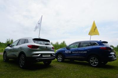 У Чернівцях презентували новий позашляховик Renault Kadjar (новини компаній)