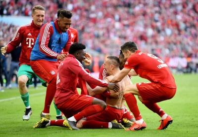 Баварія стала чемпіоном Німеччини всьоме поспіль