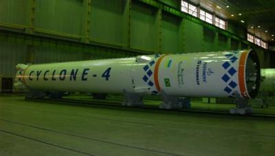 """Українська ракета-носій """"Циклон-4"""" пройде нові вогневі випробування"""