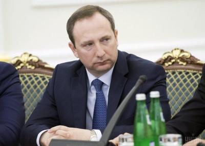Порошенко звільнив главу Адміністрації президента Ігоря Райніна