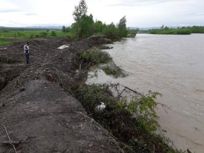 Негода на Буковині: у двох селах виникла загроза прориву дамби на річці Черемош