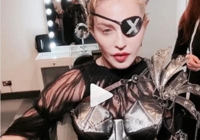 Мадонна випустила кліп після гучного скандалу на Євробаченні