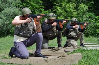 На Буковині на полігоні «Прибан» відбувся Єдиний всеукраїнський стрілецький день