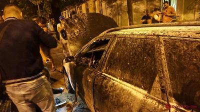 В Одесі невідомі підпалили автомобіль активіста «Дорожнього контролю»