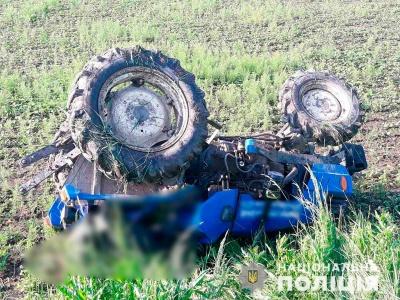 На Буковині загинув чоловік через перекидання трактора