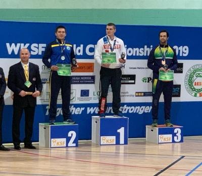 Буковинець став срібним призером чемпіонату світу з гирьового спорту