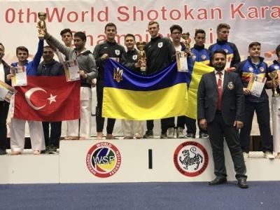 Спортсмени з Чернівців привезли 35 медалей з Чемпіонату світу по Карате