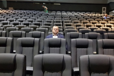 Каспрук показав, як виглядає всередині кіномистецький центр імені Миколайчука – фото