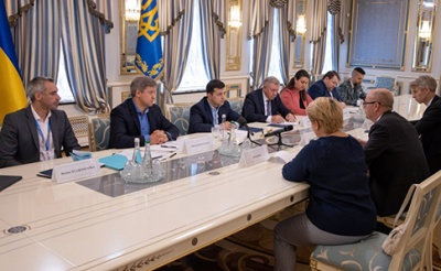 Зеленський провів зустріч з представниками місії МВФ