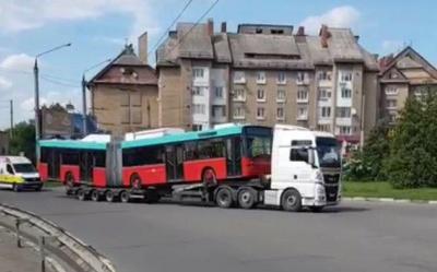 Вживані тролейбуси зі Швейцарії уже у Чернівцях