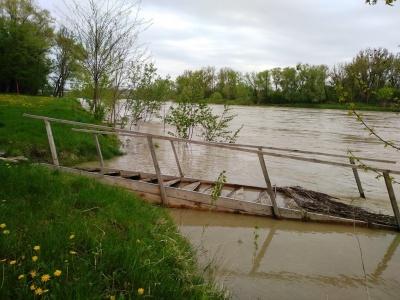 Штормове попередження: на Буковині знову очікується різкий підйом води в річках