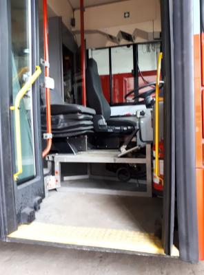 У ЧТУ показали новоприбулі тролейбуси зі Швейцарії - фото