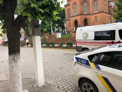 У поліції розповіли про пошуки вибухівки у Чернівцях